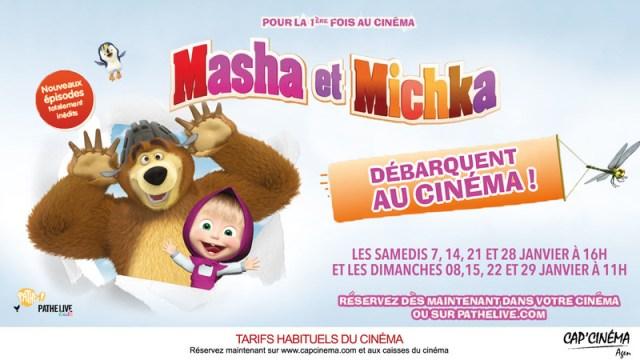 carton-ecran-macha-et-michka-capcinema-agen